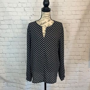 Ann Taylor Factory / Long Sleeve Blouse / Size Lar